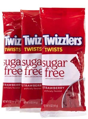 Twizzlers Sugarfree Strawberry Twists -12 / Box by Twizzlers