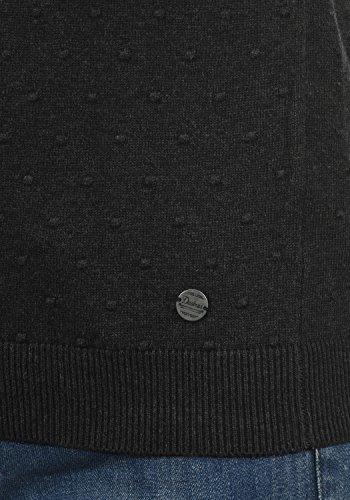 456ca681e8dd ... DESIRES Kiki Damen Strickpullover Feinstrick Pullover mit Rundhals aus  100% Baumwolle Black (9000)