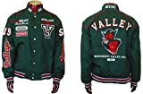 Mississippi Valley State University Devils Fraternity Twill Button Jacket Size Small