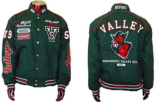 Mississippi Valley State University Devils Fraternity Twill Button Jacket 3XL by Unknown