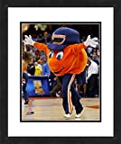 """NCAA Syracuse Orange Mascot, Beautifully Framed and Double Matted, 18"""" x 22"""" Sports Photograph"""