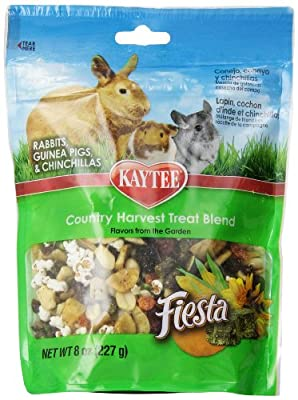 Kaytee Fiesta Country Harvest Treat Blends for Small Animals, 8-Ounce