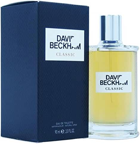 David Beckham Classic Eau de Toilette Spray for Men, 3 Ounce