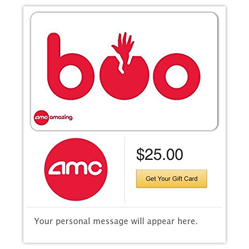 AMC Theatres Boo Gift Cards - E-mail Delivery