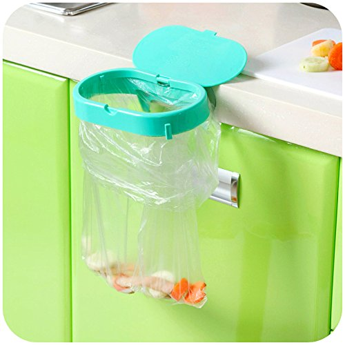 LILACORPstrong suction cup clamshell garbage bags fixed shelving, home portable kitchen sink storage rack by LILACORP