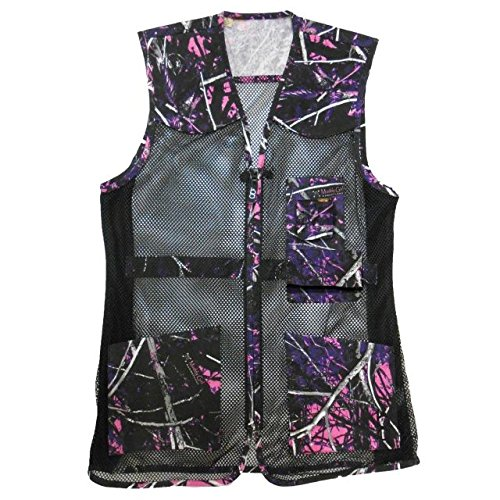 Bob Allen 240 Ladies MG Full Mesh Shooting Vest, MuddyGirl, Medium, 10056
