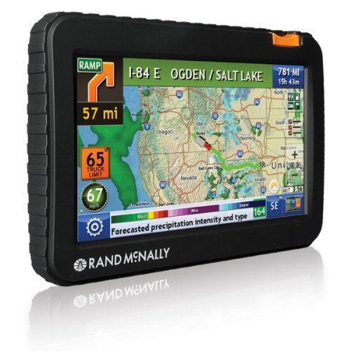 Rand McNally TND 720 LM IntelliRoute Truck GPS with Lifetime Maps (Certified Refurbished) by Rand McNally