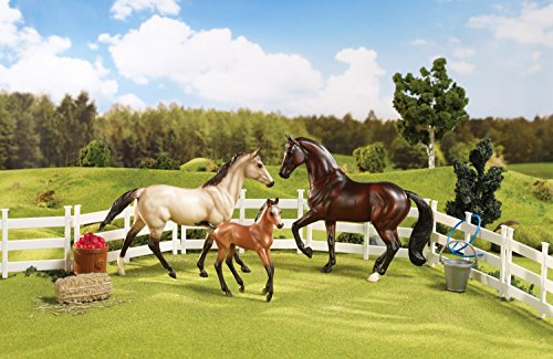 BREYER Sport Horse Family Set Includes Fencing and Accessories