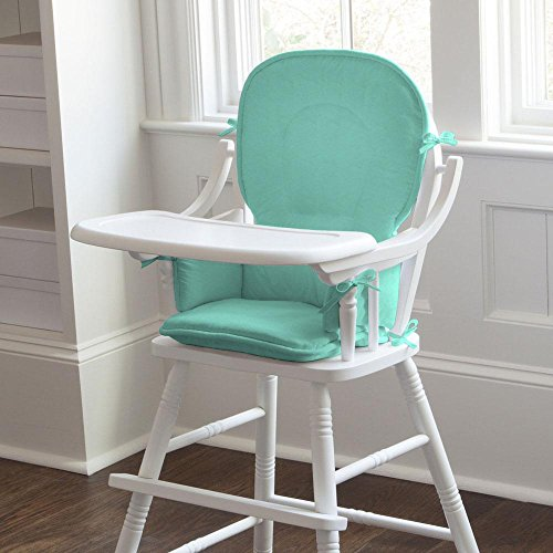 Carousel Designs Solid Teal High Chair Pad