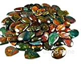 10000.00cts NATURAL WONDERFUL GREEN BLOODSTONE MIX CABOCHON LOT GEMSTONE AFRICA