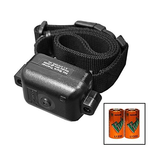 DT Systems Bark Collar Trainer - Ultra Min-e 2090 - 100% Waterproof - Designed for Smaller dogs, Lightweight and Compact Design. Bonus FREE 6 Volt Battery by DT Systems by DT Systems