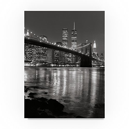 Trademark Fine Art New York City Scape by Chris Bliss, 14x19-Inch Canvas Wall Art (Bliss Wall Art)