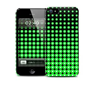 Green Halftone iPhone 5 / 5S protective case