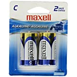 Maxell Alkaline LR14 2BP C Cell 2-Pack Battery 723320