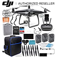 DJI Phantom 4 Pro Obsidian Edition Quadcopter EVERYTHING YOU NEED Ultimate Bundle