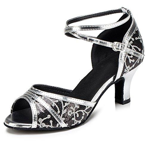 6cm de Salle femme Heel bal Miyoopark Black nqR7xO84zw
