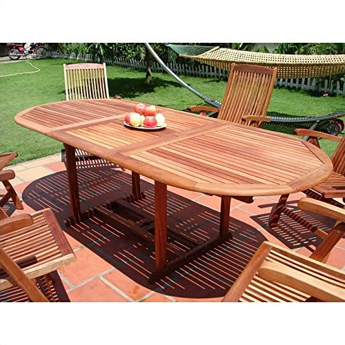 JumpingLight Outdoor Vista Extension Table with Butterfly Durable and Ideal for Patio and Backyard (Vista Table Extension)