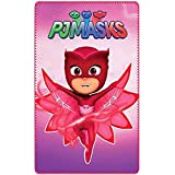 PJ Masks Kids Girls Owlette Soft Fleece Blanket