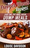 Freezer Meals Recipes: Easy One-Pot Make Ahead Dump Meals