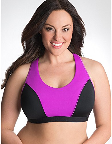 Cheap Cacique Lane Bryant Racer Back No-Wire High Impact Sports Bra (36D)