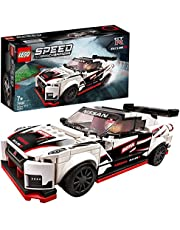 LEGO 76896 Speed Champions Nissan GT-R NISMO, Modelauto met Racer Poppetje, Race Auto Speelgoed voor Kinderen van 7 Jaar en Ouder