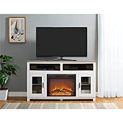 Ameriwood Home Carver Electric Fireplace TV Stand from Ameriwood Home