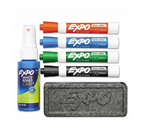 SAN80653 - Expo Low Odor Dry Erase Marker Starter Set