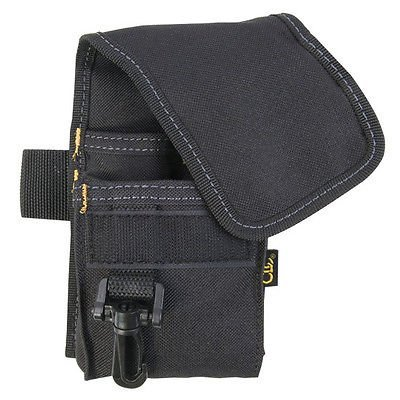 EopZol™ 4 Pocket Multi-purpose Accessory Tool Holder Pouch w/Clip by EopZol
