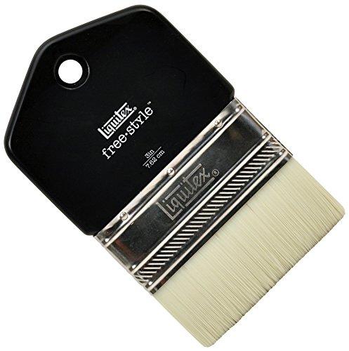 - Liquitex Professional Freestyle Large Scale Brush, Paddle 3-inch