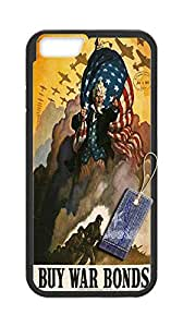 Uncle sam cases for Iphone6 Plus 5.5,Iphone6 Plus 5.5 phone case,Customize case for Iphone6 Plus 5.5 By PDDSN.