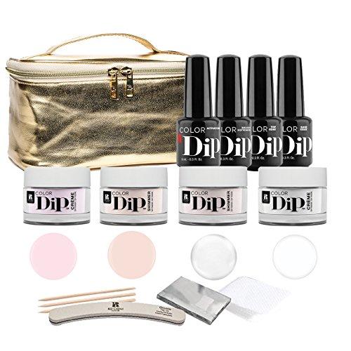 - Red Carpet Manicure Color Dip Powder Starter Kit + French Dip Color Set