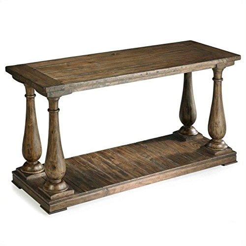 Magnussen T1695-73 Densbury Natural Pine Finish Wood Sofa Table