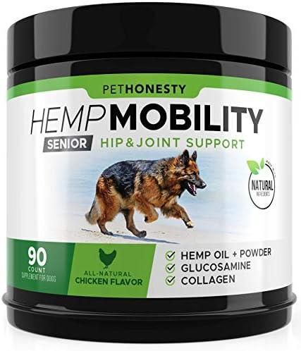 Senior Hemp Mobility Supplement Glucosamine
