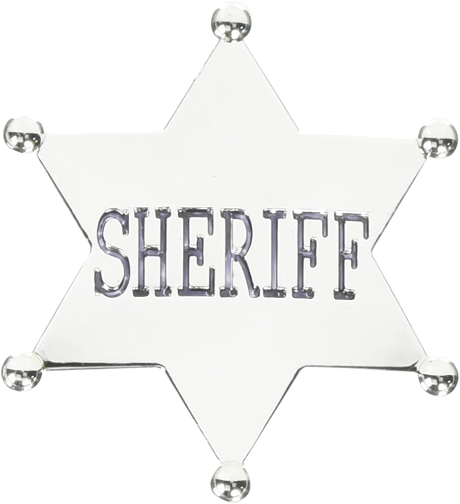 Forum Novelties Adult Sheriff Badge