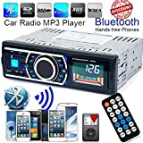 FidgetFidget MP3 Radio Car Stereo Player Bluetooth Audio in-Dash FM Aux Input Receiver SD USB
