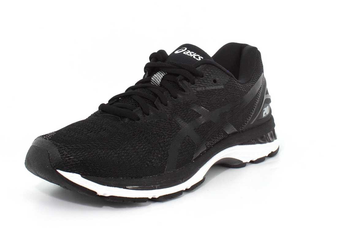 ASICS Men's Gel-Nimbus 20 Running Shoe B0714JL3GN 8.5 2E US|Black/White/Carbon