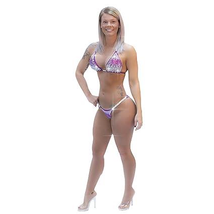 "3ed1d0de24d Competition Bikinis Contest Suits for Women Grapaid Purple Bikini  Competition Suit (Small Hips 32"""