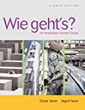 Bundle: Wie geht's?: An Introductory German Course (with Student Text Audio CD), 8th + Printed Access Card (Quia), Dieter Sevin, Ingrid Sevin, 1413043283