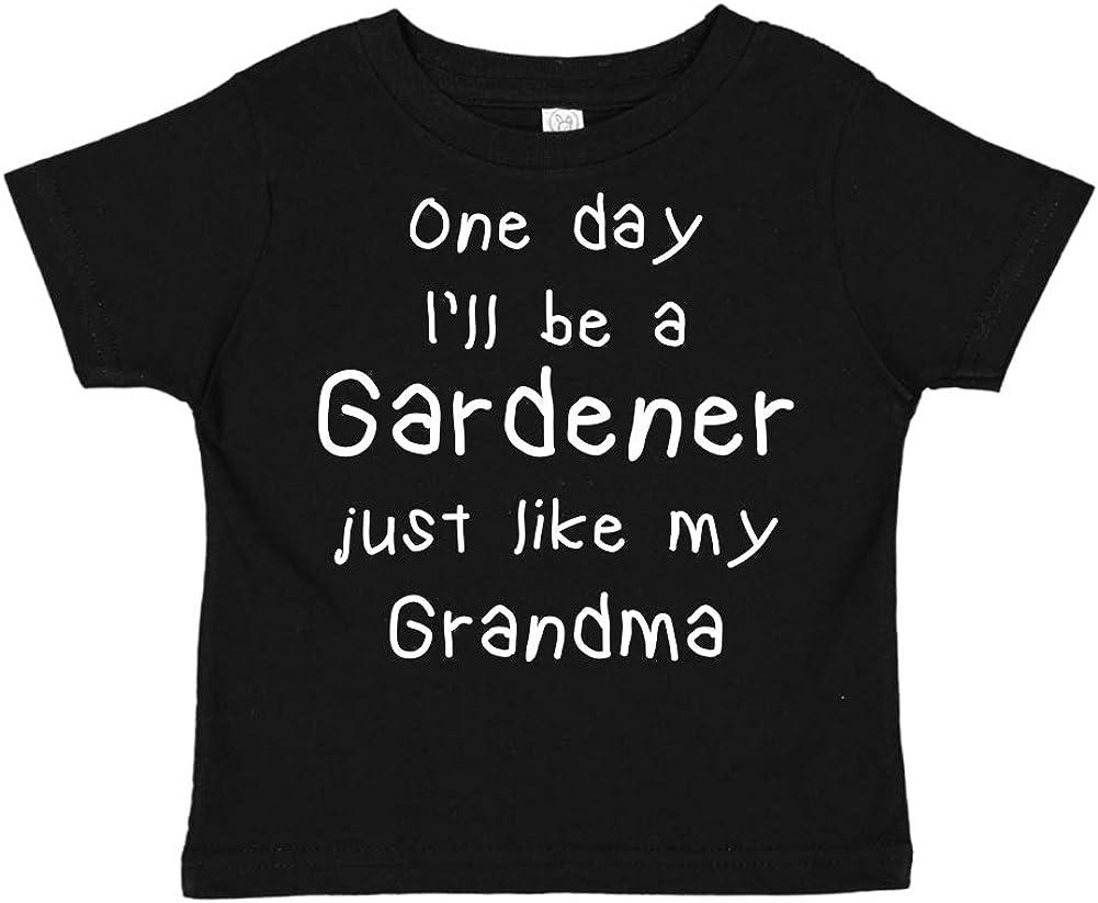 One Day Ill Be A Gardener Just Like My Grandma Toddler//Kids Short Sleeve T-Shirt