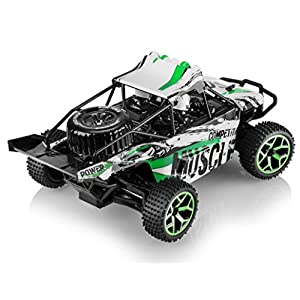 Top Race Remote Control Road Racer, RC Monster Truck 4WD, High Speed Car, 2.4Ghz (TR-140)