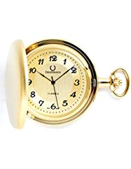 Desperado Tahoe 17 Jewel Satin Gold Plated Pocket Watch