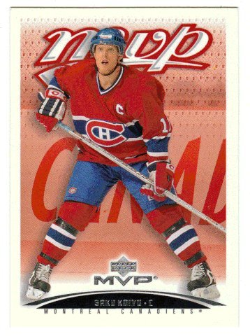 Amazon com : Saku Koivu (Hockey Card) 2003-04 Upper Deck MVP