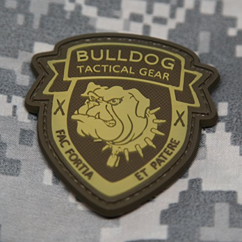 Bulldog Tactical Gear Morale Patch - Desert