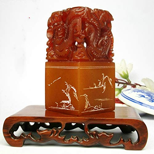 Custom Chinese Seal Custom Chinese Chop Free Chinese Name Translation Seal with Dragon Engraving - Seal Chinese Custom