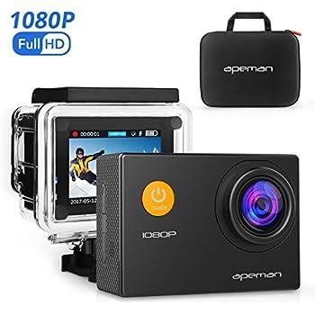Amazon.com : APEMAN Action Camera 12 MP Full HD 1080P Waterproof ...