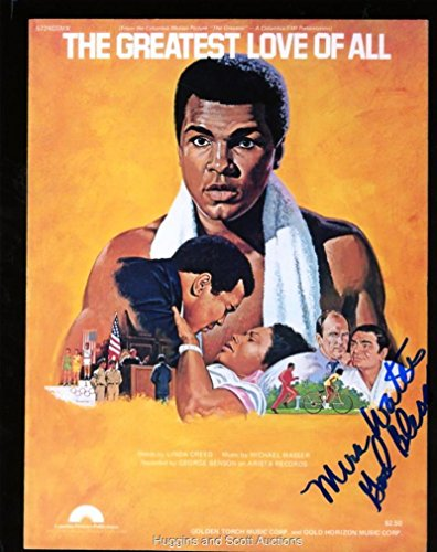 Autographed Muhammad Ali Picture - Mira Walters By Mira 8x10 W coa - Autographed Boxing ()