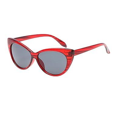 Amazon.com: ZLYZ Sunglasses Ladies Cat Eye Sunglasses Women ...