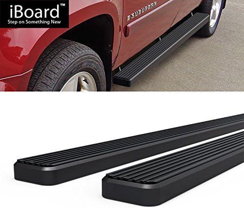 w//Body Cladding 4 Black Eboard Running Boards Off Roader for 2002-2013 Avalanche 1500 /& 2000-2018 Suburban 1500 // Yukon XL 1500 Nerf Bar   Side Steps