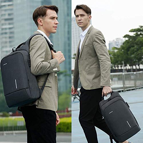 upc 656516638406 product image for Lightweight Traveling Laptop Backpack, Kingsons Business Travel Computer Bag Slim Laptop Rucksack 13.3