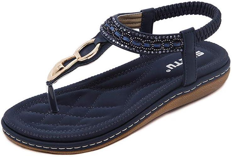 Subfamily Sandales Femmes Plates, Tongs Chaussures Été Nu